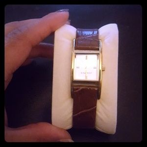 Nine West Brown and Gold watch